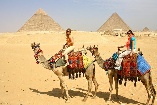 Full-day Guided Tour to Giza Pyramids & Sphinx , Sakkara and Memphis