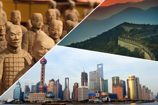 8 Days China Tour Beijing - Xian - Shanghai (Golden Triangle)