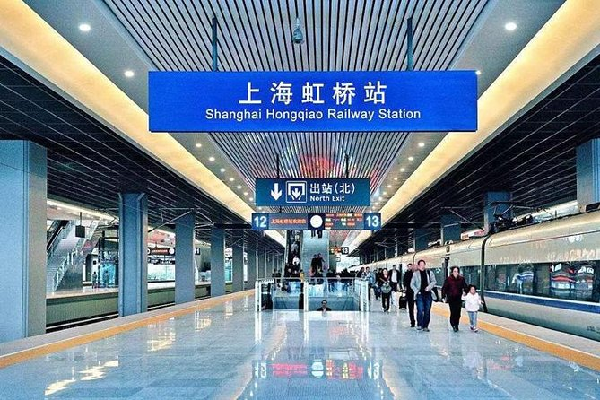 Shanghai Hongqiao Railway Station to Hotels:Private with Meet & Great service