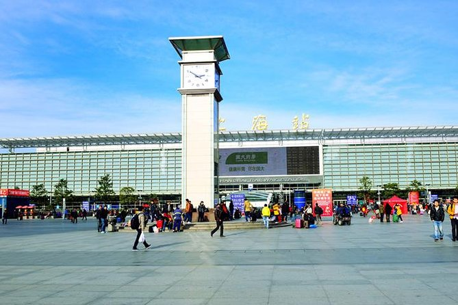 Shanghai Pudong Airport to Shanghai Railway Station Private with Meet Service
