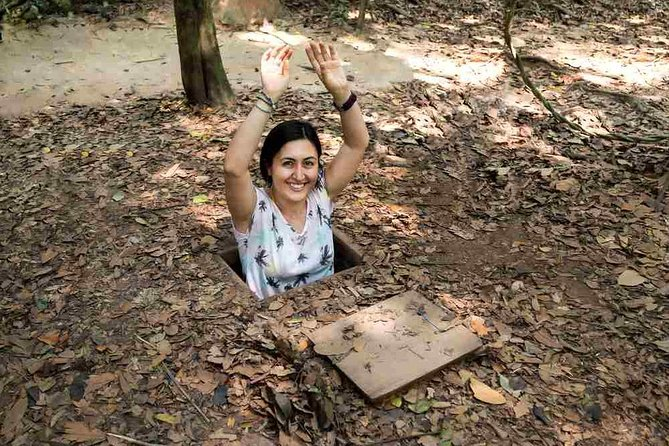 Discover Cu Chi Tunnels half day by bus (Morning)