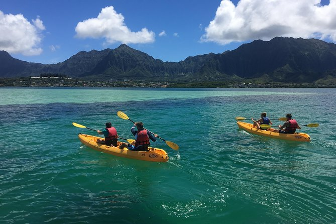 Kane'ohe Bay Sandbar Self-Guided Kayak and Snorkel Discovery