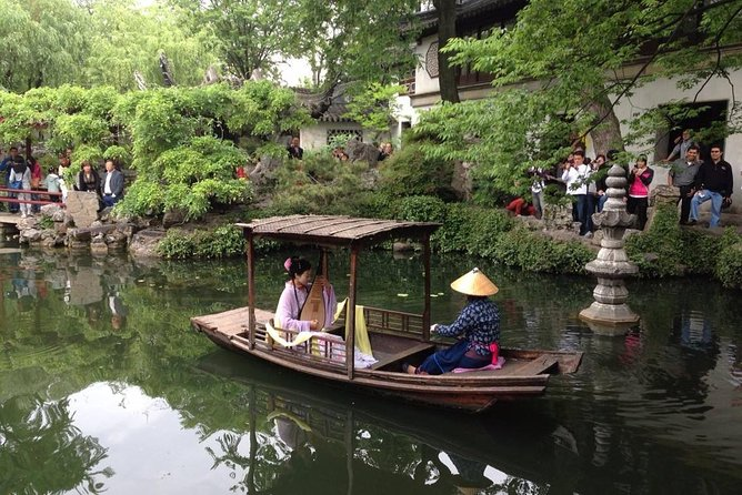 Flexible Private Suzhou Day Trip from Shanghai by Bullet Train