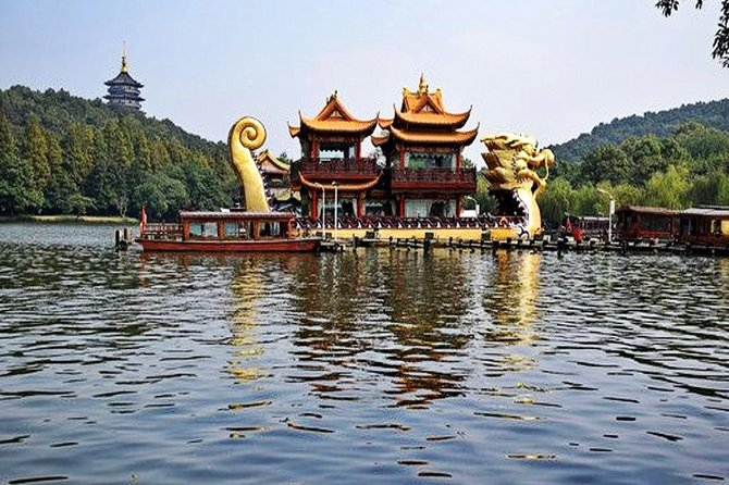 Hangzhou Private Flexible Day Tour with West Lake Boat Cruise
