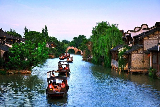 Wuzhen Ancient Water Town Amazing Private Day Tour from Hangzhou