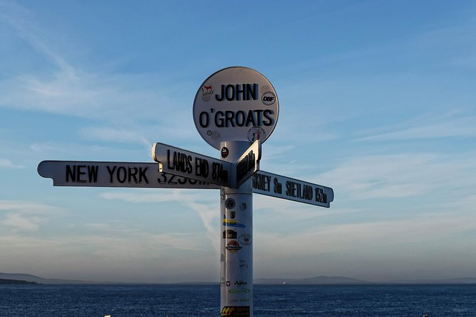 John O'Groats, Dunrobin Castle & the Far North from Inverness