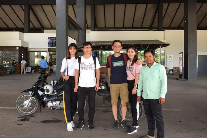 Siem Reap One Way Airport or Hotel Transfer by Tuk Tuk