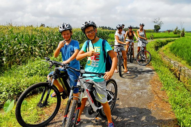 South Ubud E - Bike and Ayung River White Water Raft