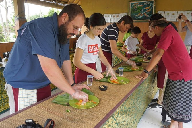 Balinese Traditional Food Cooking Class with Ubud Monkey Forest and SPA