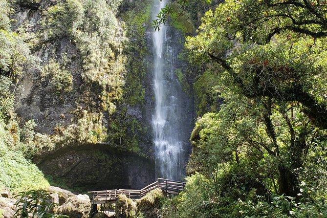 Giron Waterfall and Busa Lake