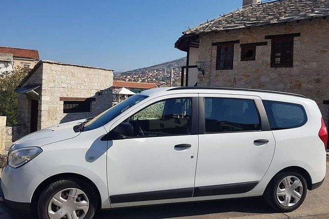 Private transfer from Mostar to Sarajevo