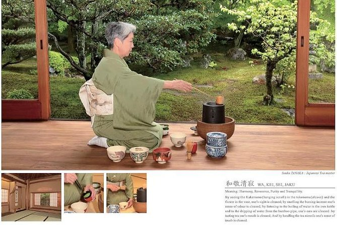 Tea ceremony Experience in kyoto at the world heritage, kinkaku-ji Temple
