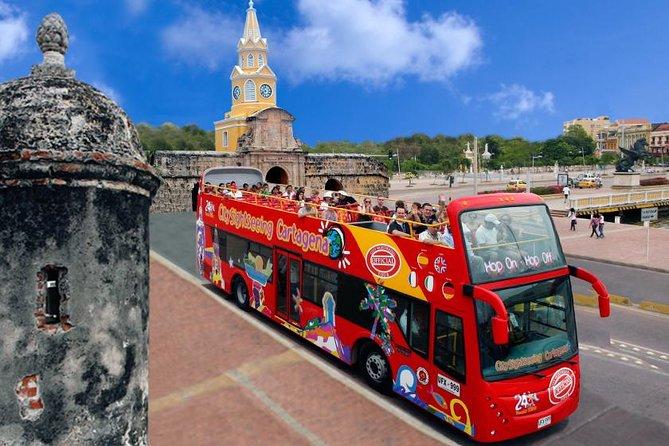 City Tour Hop On Hop Off Cartagena - Bus Turistico de 2 pisos