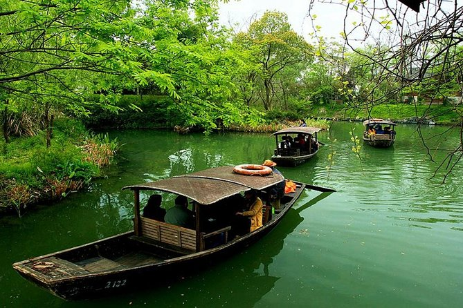 Half-Day Hangzhou Xixi Wetland Park Private Tour with Boat Ride photo 7