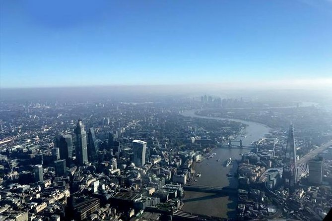 London Sightseeing Helicopter Tour (Shared)