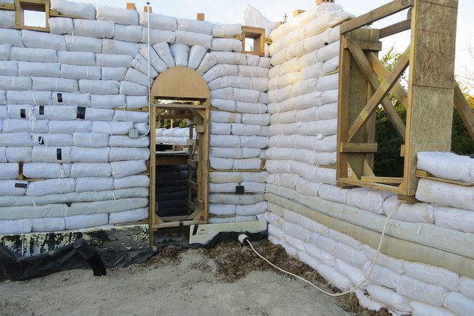 Earthbag and Stone Construction