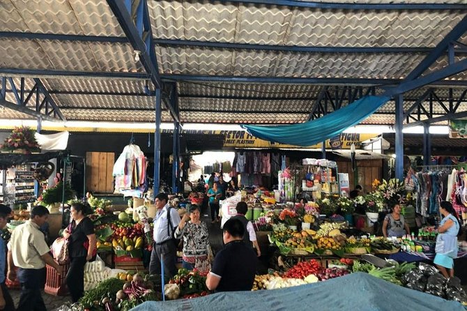 Antigua Market food tour