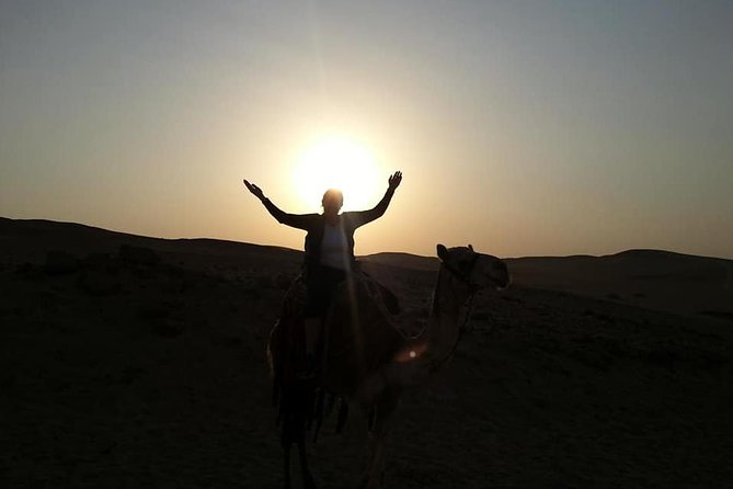 Camel Riding of Giza Pyramids at Sunset with Local Bedouin Dinner photo 2