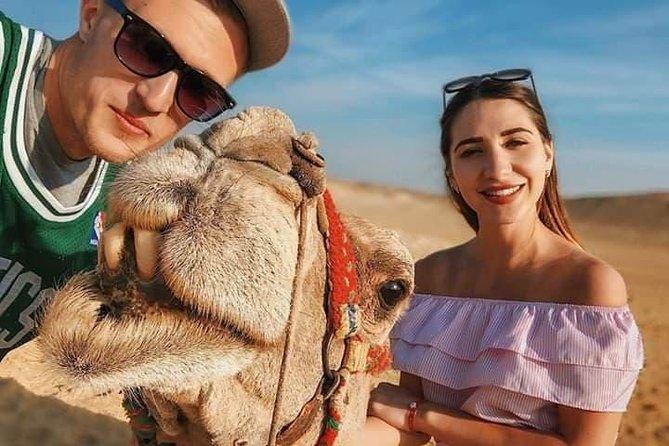 Tour Giza Pyramids & Memphis & Saqqara& Camel ride