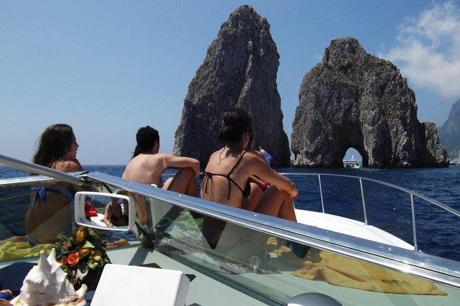 Capri full day luxury excursion by sea with Tornado classic 38 feet, 12 meters photo 2