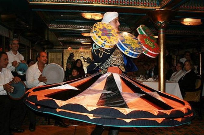 Private Tour Nile Dinner Cruise in Cairo with Belly Dancing