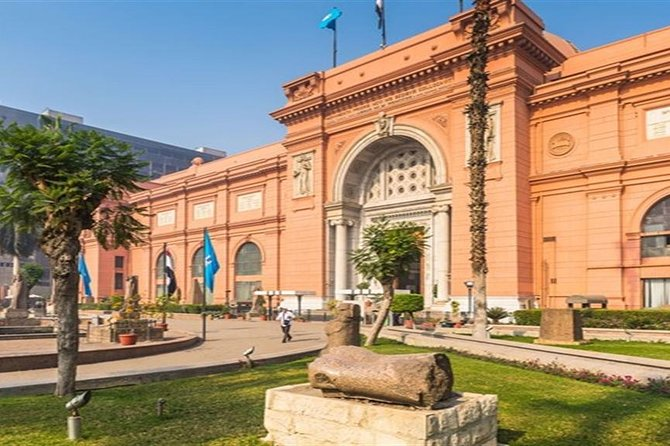 Day Tour: Egyptian Museum and Giza pyramids and Hanging Church photo 1
