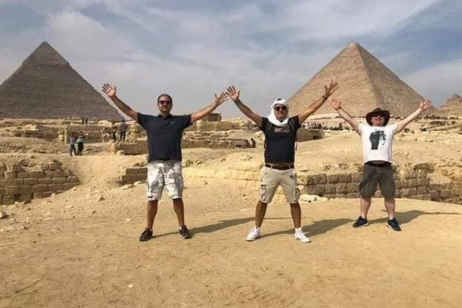 private Day Tour Giza Pyramids & Memphis & Saqqara& Camel ride