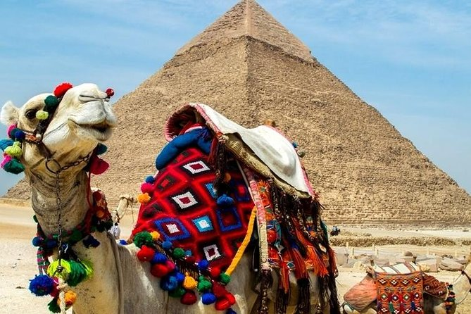 Full-Day Tour from Cairo: Giza Pyramids, Sphinx, Memphis,Saqqara,Camel Ride