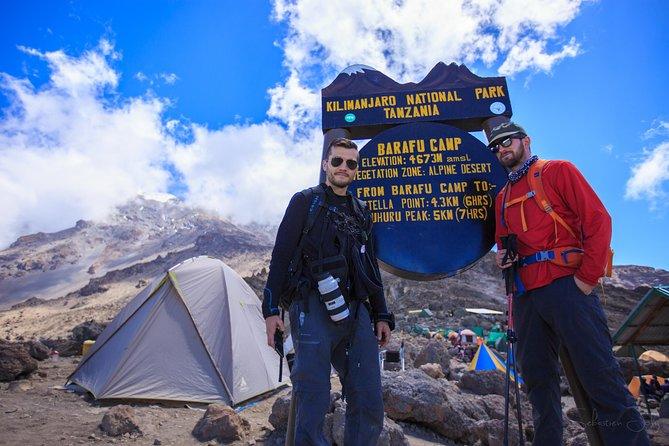 8 days Kilimanjaro trek Lemosho route