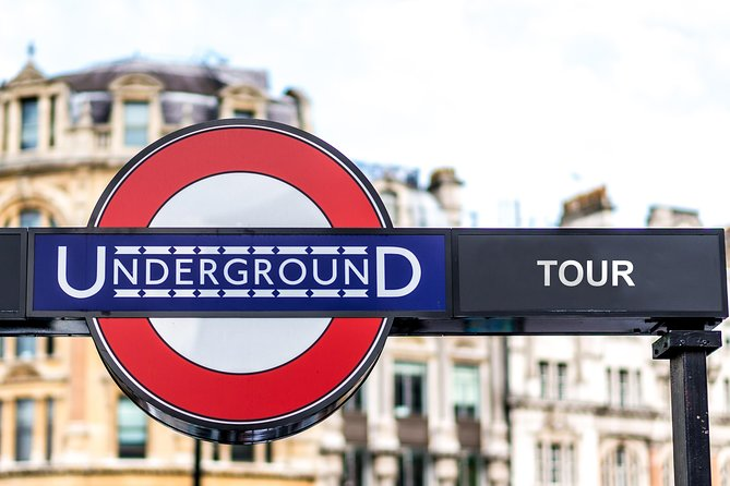 Underground London Small Group Walking Tour