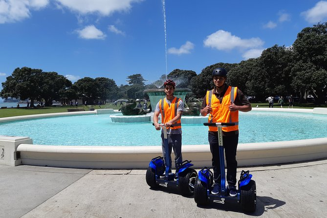 Kiwi Segway Tours - Amazing Auckland City Segway Tour