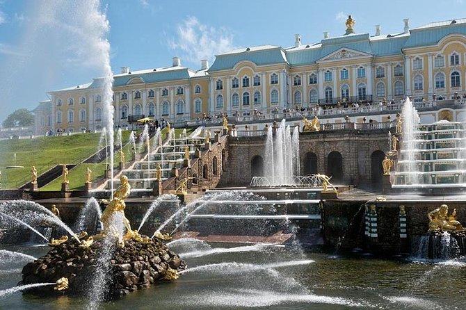 Peterhof-Tour mit Besuch des Grand Peterhof Palace und des Lower Park