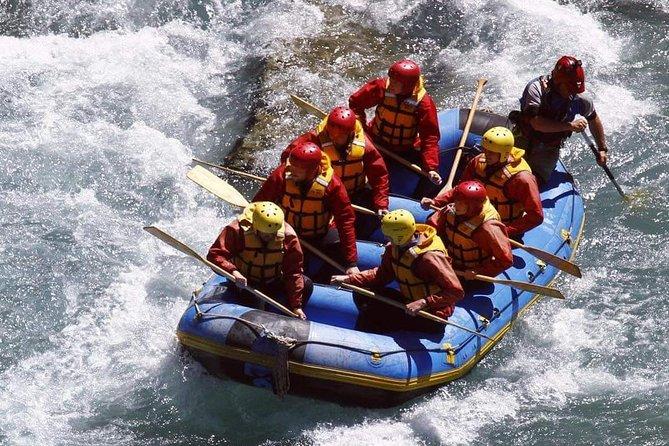 Bali Rafting Telaga waja River, Zipline track And Besakih Temple Day Tour