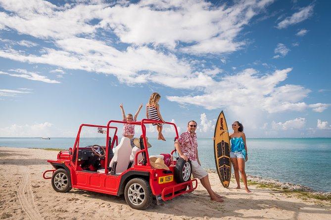 Full-Day Private Bora Bora Electric e-Moke Rental
