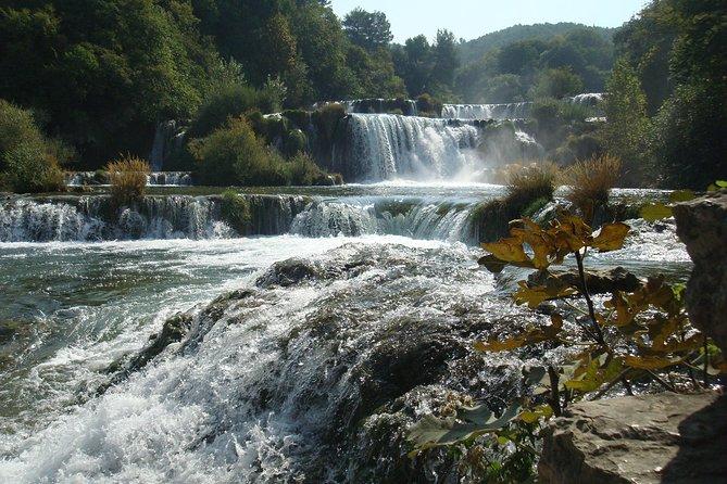 Explore Krka National Park and visit Sibenik city - private day trip from Split