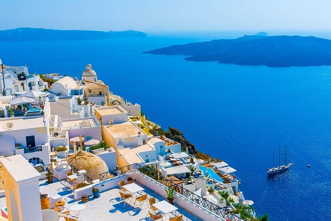 Santorini Day-Trip rent a minibus with driver