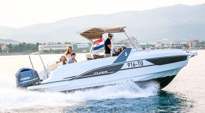 Boat rental - 1 day from Trogir