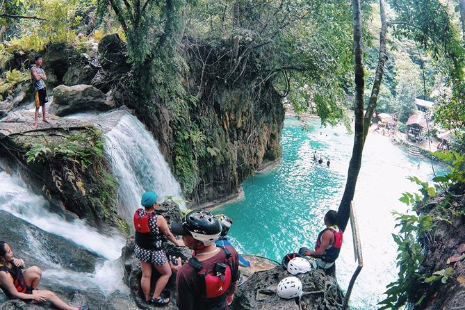 Badian Canyoneering Adventure and Kawasan Waterfalls Private Tour