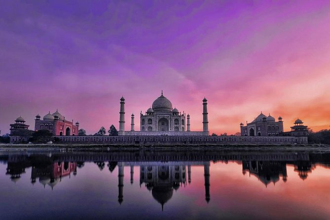 Same Day Taj Mahal and Agra Tour from Delhi