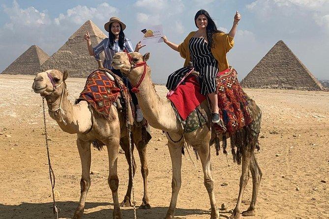 Giza Pyramids, The Egyptian Museum & Coptic Cairo Day Tour