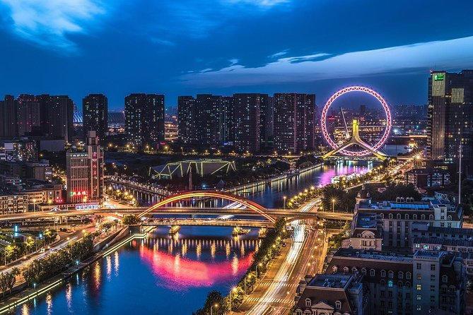 Private Tianjin City Night Tour with Haihe River Cruise