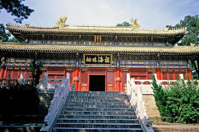 Beijing Private Day Tour to Summer Palace and Tanzhe Temple with Afternoon Tea