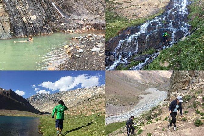 Cajon del Maipo Tour: El Plomo Hot Springs & Los Patos Lagoon & El Yeso Park