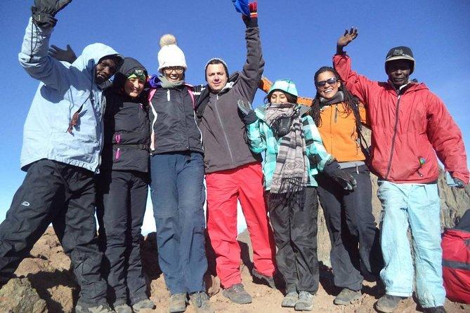 6 Days Mt Kenya Route: Chogoria - Naromoru