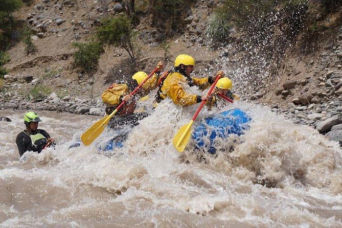 Rafting & El Yeso Dam & Pool & Barbecue In Cajon Del Maipo