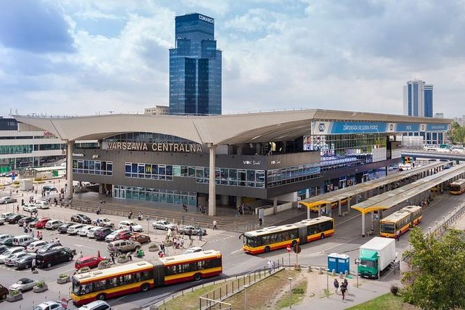 Private transfer from Central Railway Station to any location in Warsaw