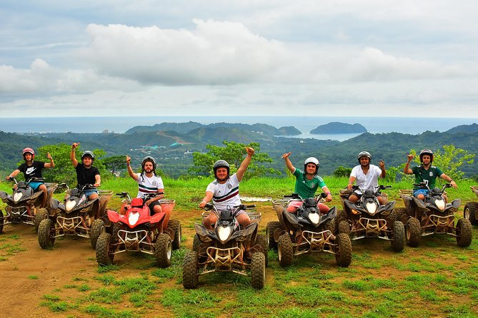 One Day Tour -2 Activities( Zipline and Atv) From San Jose