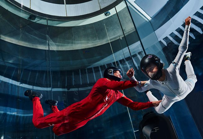 Charlotte Indoor Skydiving Experience with 2 Flights & Personalized Certificate
