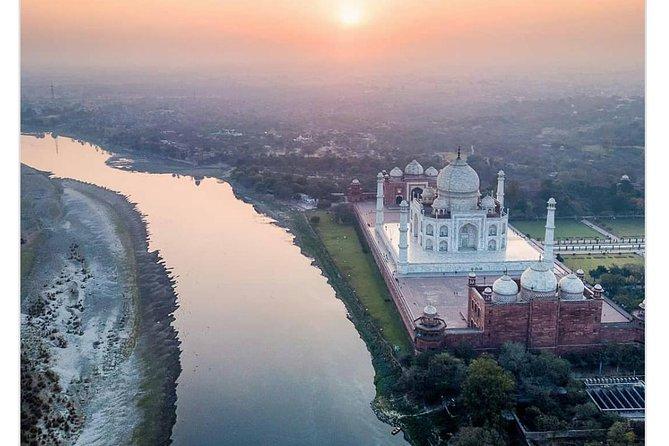 Taj Mahal Sunrise/Sunset tour Agra,