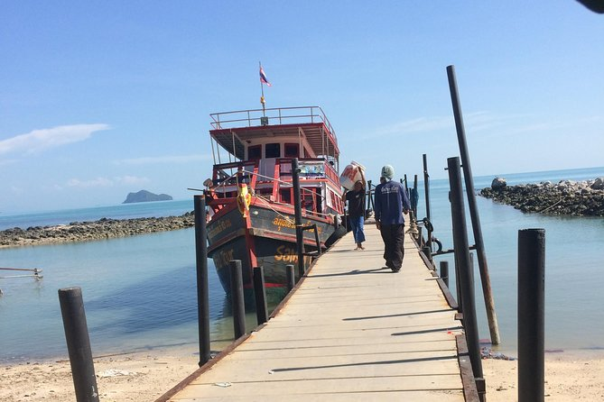 3 nights camping with boat trip to Angthong national marine park